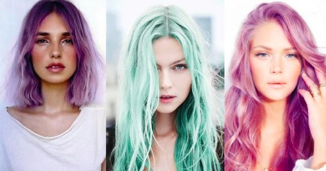HeBle: Kolorowe włosy!
