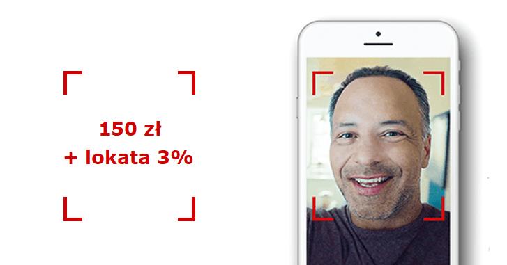 Zyskaj 150 zł za konto na selfie w Pekao + lokata PeoPay 3%