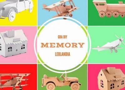 Gra DIY Memory! Niezwykle łatwa do zrobienia w domu!