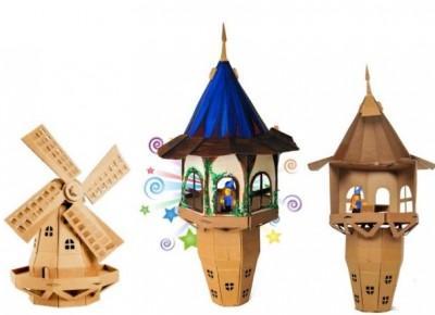 Jak zrobić magiczną wieżę z tektury DIY?