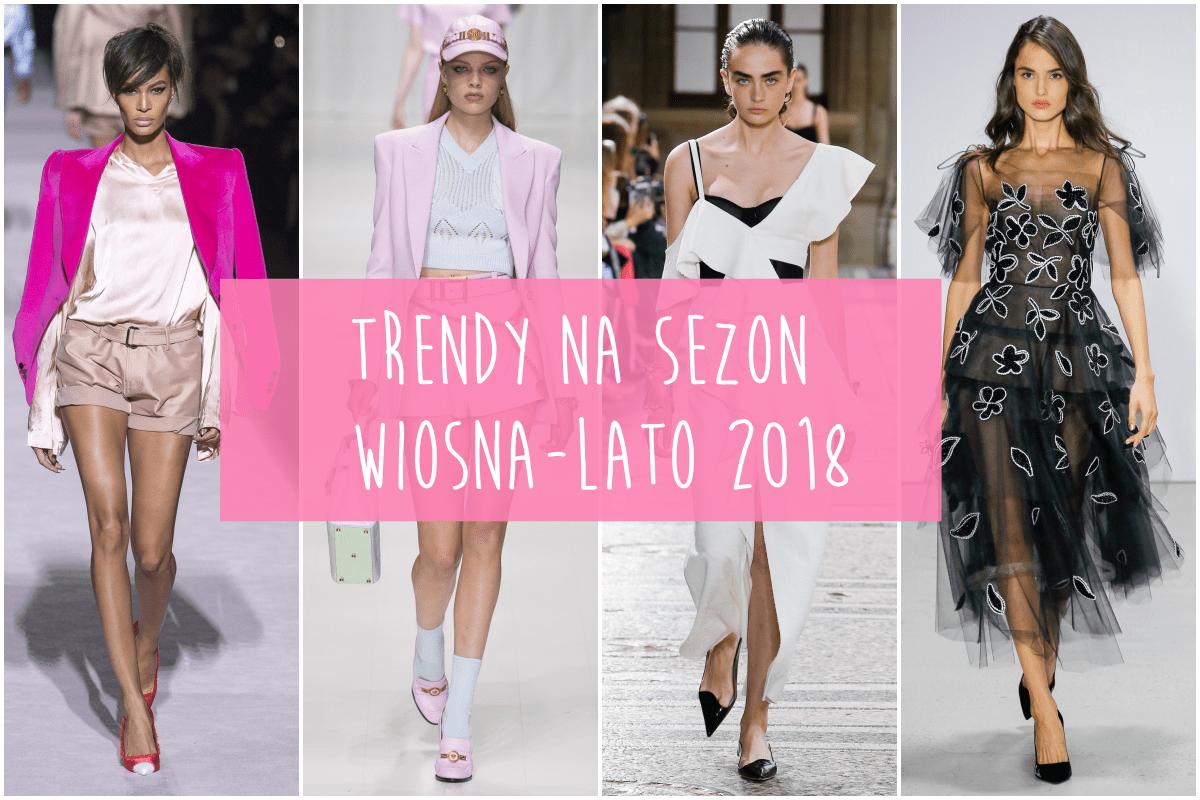 10 Trendów wiosna-lato 2018