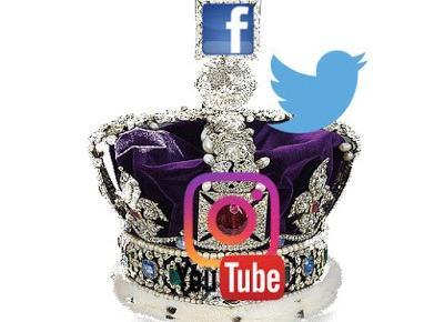 : Social media w królewskim pałacu