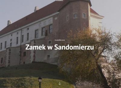 Zamek w Sandomierzu - Blake