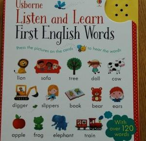 Rudym spojrzeniem: Listen and learn. First English words.