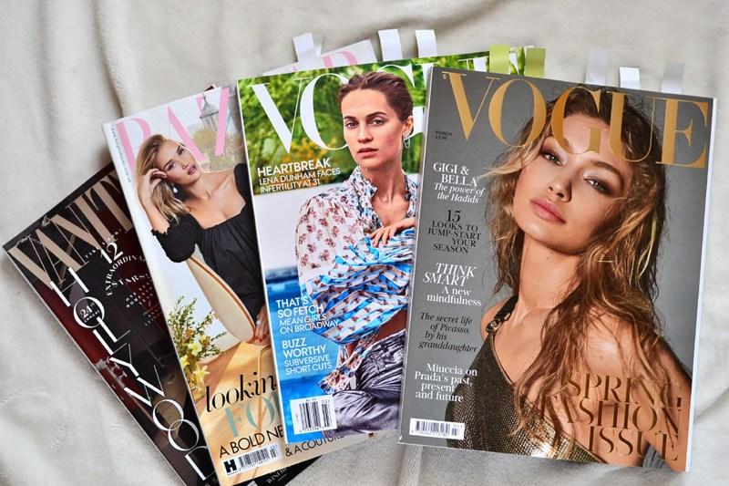British Vogue, Harper's Bazaar, Vogue USA and Vanity Fair – Magazines Review – BLOG EMILUX – Emilia Żogo