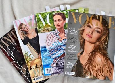 British Vogue, Harper's Bazaar, Vogue USA and Vanity Fair – Magazines Review – BLOG EMILUX – Emilia Żogo