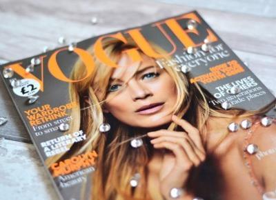 British Vogue July Carolyn Murphy – Magazine Review