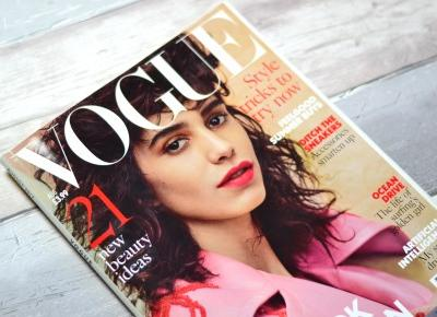 British Vogue August 2017 – Mag Review – BLOG EMILUX – Emilia Żogo