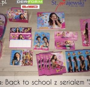 Soy Luna Polska: [Back to school] Gadżety z serialu