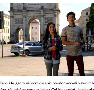 Soy Luna Polska: [Tłumaczenie] Karol i Ruggero odpowiadają na pytania niemieckich fanów