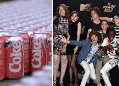 Coca-cola i stranger things ?! Co ich łączy?