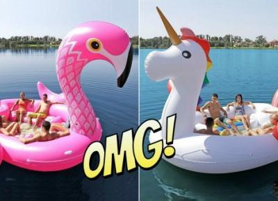 Lato? Kup sobie wyspę w kształcie flaminga !