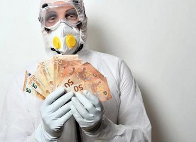 Pieniądze za zakażenie się koronawirusem!