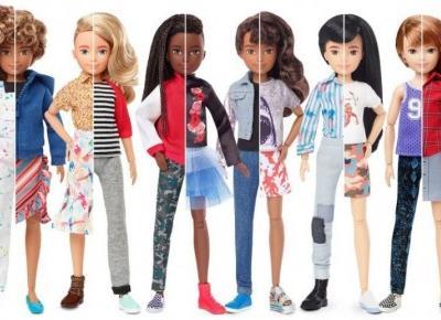 Pierwsza lalka Barbie , która nie ma płci !