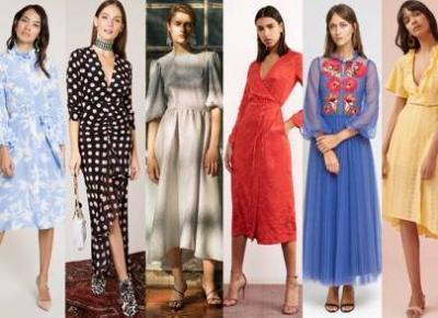 modele sukienek, które będą hitem tej wiosny