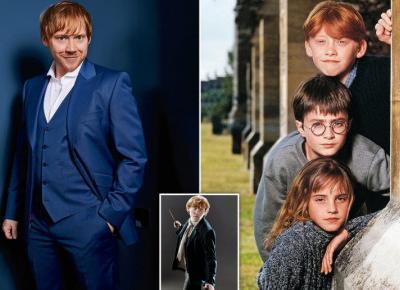 Ron Weasley z Harry'ego Pottera zostanie Ojcem!  Czy na świecie pojawi się kolejna rudowłosa istotka? Sprawdź!