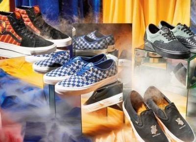 Vans pokazał pierwsze zdjęcia kolekcji inspirowanej Harrym Potterem
