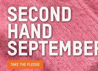 Second Hande September ! - modowe wyzwanie dla Ziemi