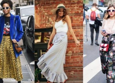 Najmodniejsze spódnice , które znajdziesz w sieciówkach !
