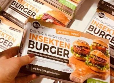 Kaufland sprzedaj burgery z robaków !
