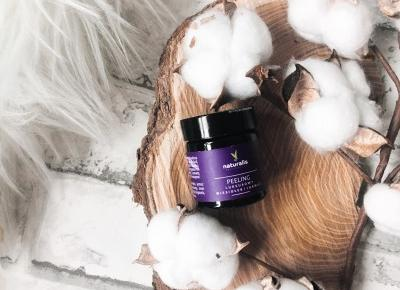 BY ALEKSANDRA   Beauty & Lifestyle: Manufaktura Naturalis 'Wiesiołek i jarmuż'   Peeling idealny przy pielęgnacji skóry zanieczyszczonej, z zaskórnikami