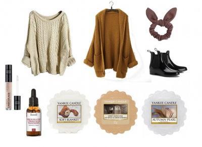 BY ALEKSANDRA | Beauty & Lifestyle: Jesienna wishlista - kosmetyki, ubrania, akcesoria i woski