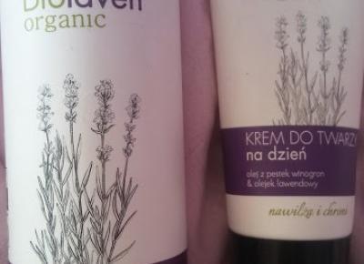 Recenzja: Biolaven organic krem do twarzy na dzień oraz płyn micelarny