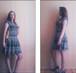 Cheerry23: OOTD5/DRESS IN DESIGNS