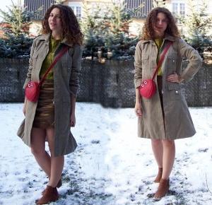 Chiconic: Militarny płaszcz w wersji COLOUR