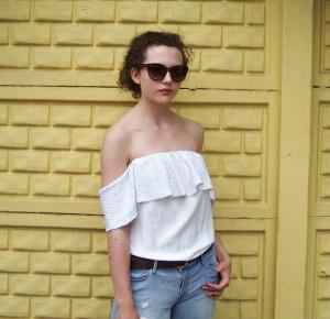 Chiconic by Kasia Wasilewska: Birkenstock and DIY shirt