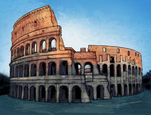 Chiyo: Lecę do Rzymu !