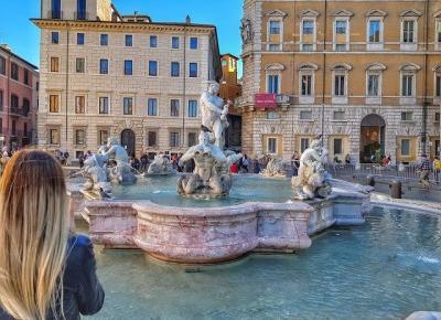 Chiyo: Błądząc po uliczkach Rzymu.