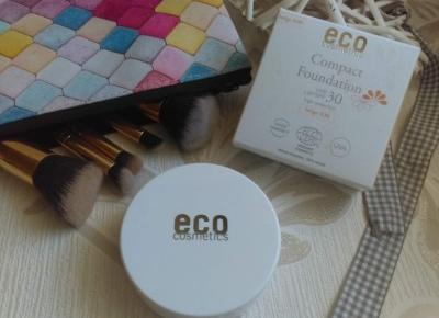 Cosmetics reviews : Podkład w kompakcie SPF 30 medium beige / Eco Cosmetics