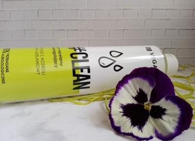 Cosmetics reviews : AA VEGAN CLEAN - płyn micelarny seboregulujący