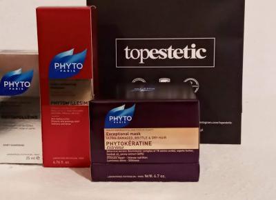 Cosmetics reviews : Kosmetyczne perełki do pielęgnacji włosów z Topestetic