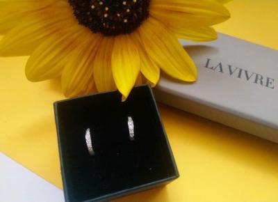 Cosmetics reviews : Srebrna biżuteria Lavivre - kolczyki uzupełnieniem stylizacji