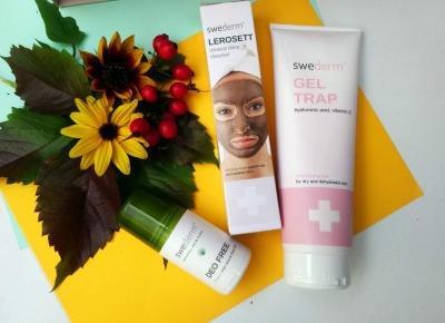 Cosmetics reviews : Pierwsze spotkanie z marką Swederm - udane czy nie?