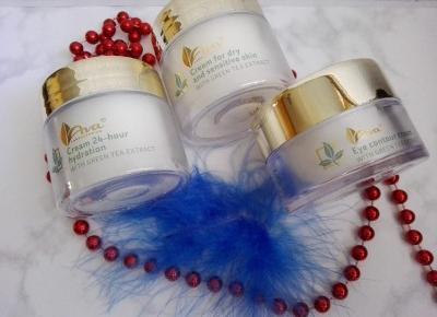 Cosmetics reviews : Kosmetyki Ava Zielona Herbata w nowej odsłonie