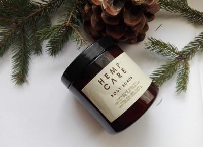 Cosmetics reviews : Hemp Care Body Scrub - przyjemność dla ciała i zmysłów