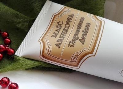 Cosmetics reviews : Maść arnikowa Gorvita - remedium na sińce i opuchnięcia
