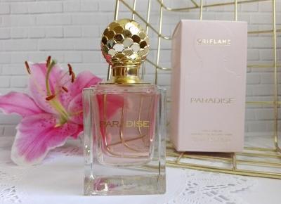 Cosmetics reviews : Woda perfumowana Oriflame Paradise - zapach pełen niespodzianek