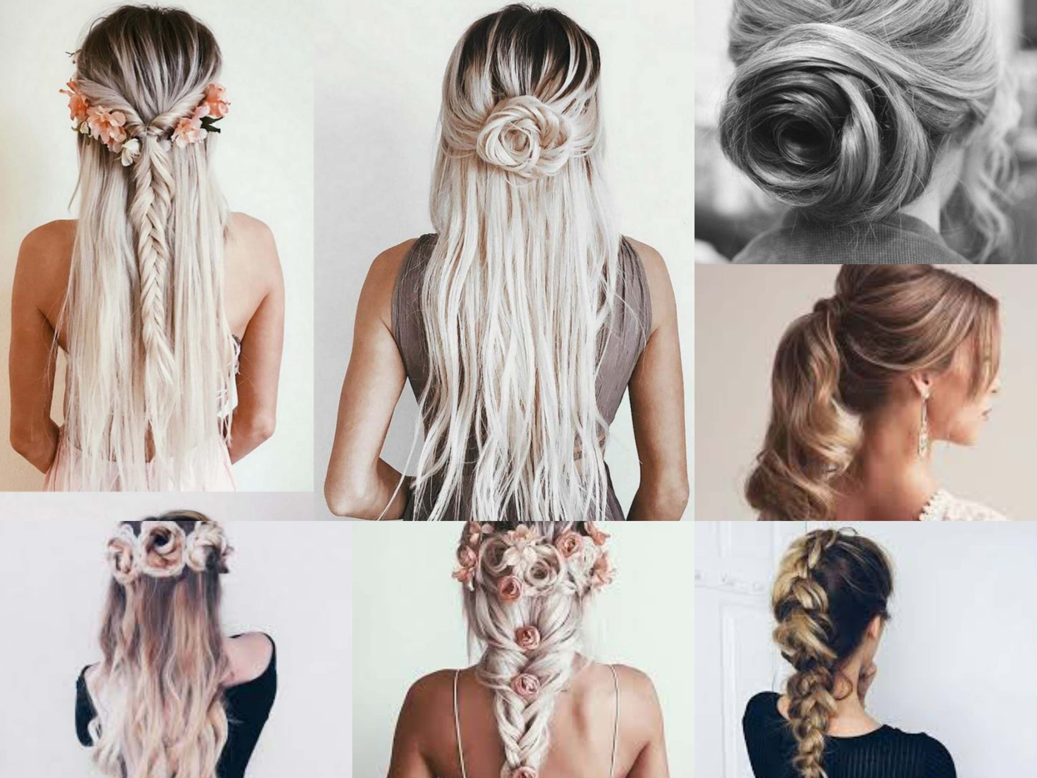 PROM HAIRSTYLE MIX INSPIRATION
