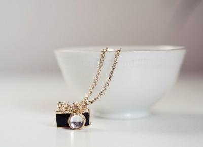 Biżuteria i dodatki (nie tylko) dla miłośników fotografii.