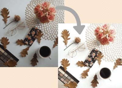 Poradnik: Jak przerobić zdjęcie na Instagram - idealnie białe tło - Ada Zet