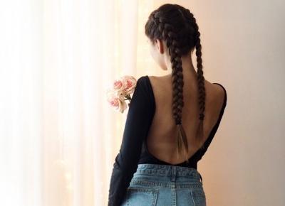 Czarne body z odkrytymi plecami YOINS | Haul Biedronkowy. - Ada Zet