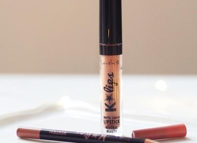 Matowa pomadka do ust: Lovely K-lips Neutral Beauty + rozdanie.