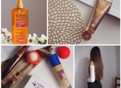 Aktualna pielęgnacja włosów + promocja 49-55% Rossmann.