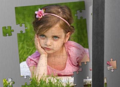 Magnes na lodówkę - puzzle z Twoim zdjęciem