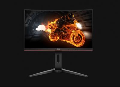 Test AOC C24G1 – zagięty monitor do gier i nie tylko - CyberBay