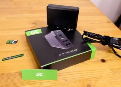 Green Cell Power Source 75W z funkcją Power Delivery– Jedna ładowarka, by wszystkimi rządzić – Recenzja - CyberBay